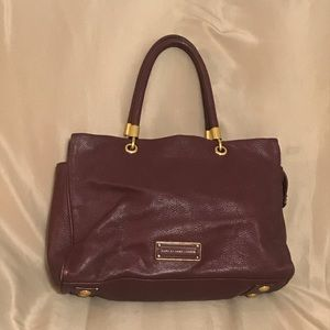Marc By Marc Jacobs Purple Leather Purse